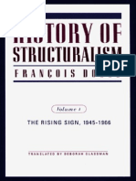 Dosse, François - History of Structuralism. Vol. 1 - The Rising Sign, 1945-1966