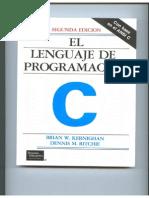 El Lenguaje de Programación C - Kernighan y Ritchie