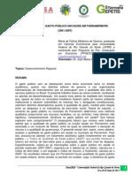 A Qualidade do Gasto Público em Saúde em Parnamirim.