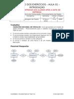 Aula 3 - Modelagem de Dados - Exerc. Gabarito