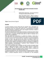 Agricultura Familiar Sustentável um Estudo na Região do Mato Grande (RN)