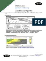 SCM Truncated Gaussian Algorithm Petrel 2010