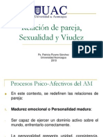 Relación de pareja, Sexualidad y Viudez (9° Clase)