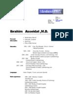 Dr Ibrahim ASSEIDAT_Medicsindex Member Profile_2009