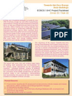ECBCS Annex 52 Factsheet