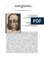 """""""'Cierto negro brasileño leproso' un sueño político-filosófico de Spinoza"""" (VIº)   Por Nicolás González Varela"""