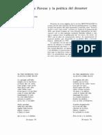 Cesar Pavese- Poemas y Metrica