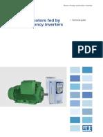 Induction Motors Fed by PWM (WEG)