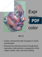 Advanced Art Pastel Portrait