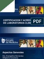 Certificacion laboratorio clinico