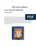 Jewish Gifts and Judaica Arts Attract Interest