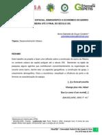O Desenvolvimento Espacial, Demográfico e Econômico do Bairro da Ribeira até o Final do Século XIX