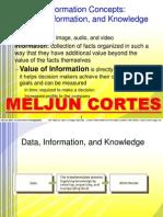 MELJUN CORTES Information Concepts