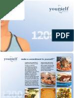 1200 Calorie Meal Plan Book
