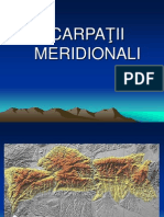 CARPATII MERIDIONALI
