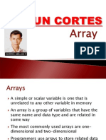 MELJUN CORTES Array Discussion