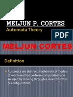 MELJUN CORTES Automata Theory