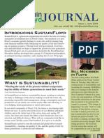 Sustain Floyd June Newsletter Issue #1