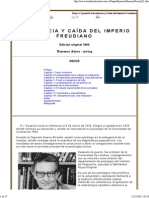 DECADENCIA Y CAÍDA DEL IMPERIO FREUDIANO 1