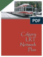 Calgary Transit LRT Network Plan