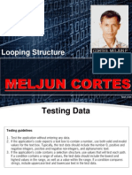 MELJUN CORTES Looping Structure