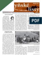Radyňské Listy, Starý Plzenec, Říjen 2013