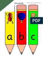 ABC Gambar Pencil