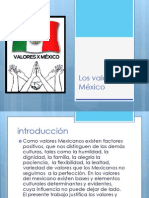 Los valores en México.pptx