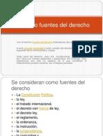 Procesal, Concepto Fuentes Del Derecho