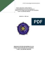 Modul Praktik Laboratorium Kgd i 2009-2010