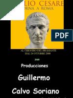 Gaius Iulius Caesar torna a Roma - Julio César