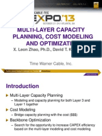 MULTI-LAYER CAPACITY  PLANNING, COST MODELING  AND OPTIMIZATION