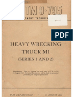 TM 9-795 HEAVY WRECKING TRUCK M1 (SERIES 1 AND 2), AUGUST 1942