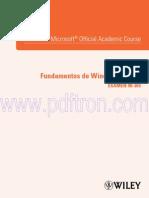 98-365 Fundamentos de Windows Server