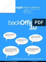 Backoffice Brochure
