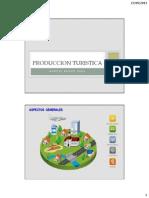 PRODUCCION TURISTICA