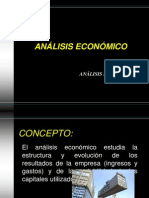 ANALISIS ECONOMICO