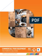 ISSF Commercial Food Equipment the Ferritic Solution