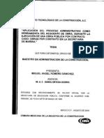 ADMINISTRACIÓN DE LA CONSTRUCCIÓN
