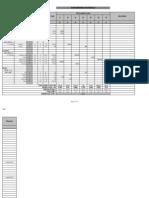 Steel Bar Bending Schedule