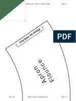 0581-Retro Fun Apron Flounce Pattern