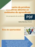 PORTAFOLIO 4 Movilización de prácticas educativas abiertas en ambientes de