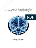 2985985 Tecnicas de Memorizacao Curso Rapido