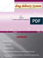 Pumonary Drug Delivery Sy 3856380