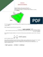 Medidas de Superficie y Volumen