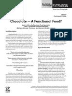 Chocolate Functional Food