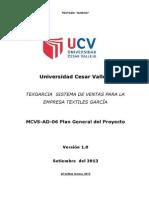 MCVS-AD-06 Plan General Del Proyecto