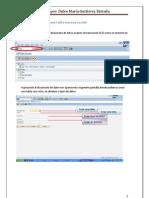 Manual Para Crear Una Tabla Externa en SAP D.M.G.E