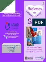 "Programa ""Hablemos de Salud"" 2º semestre 2013"