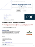 Training Medical Coding Training Philippines _ Get Medical Billing Training